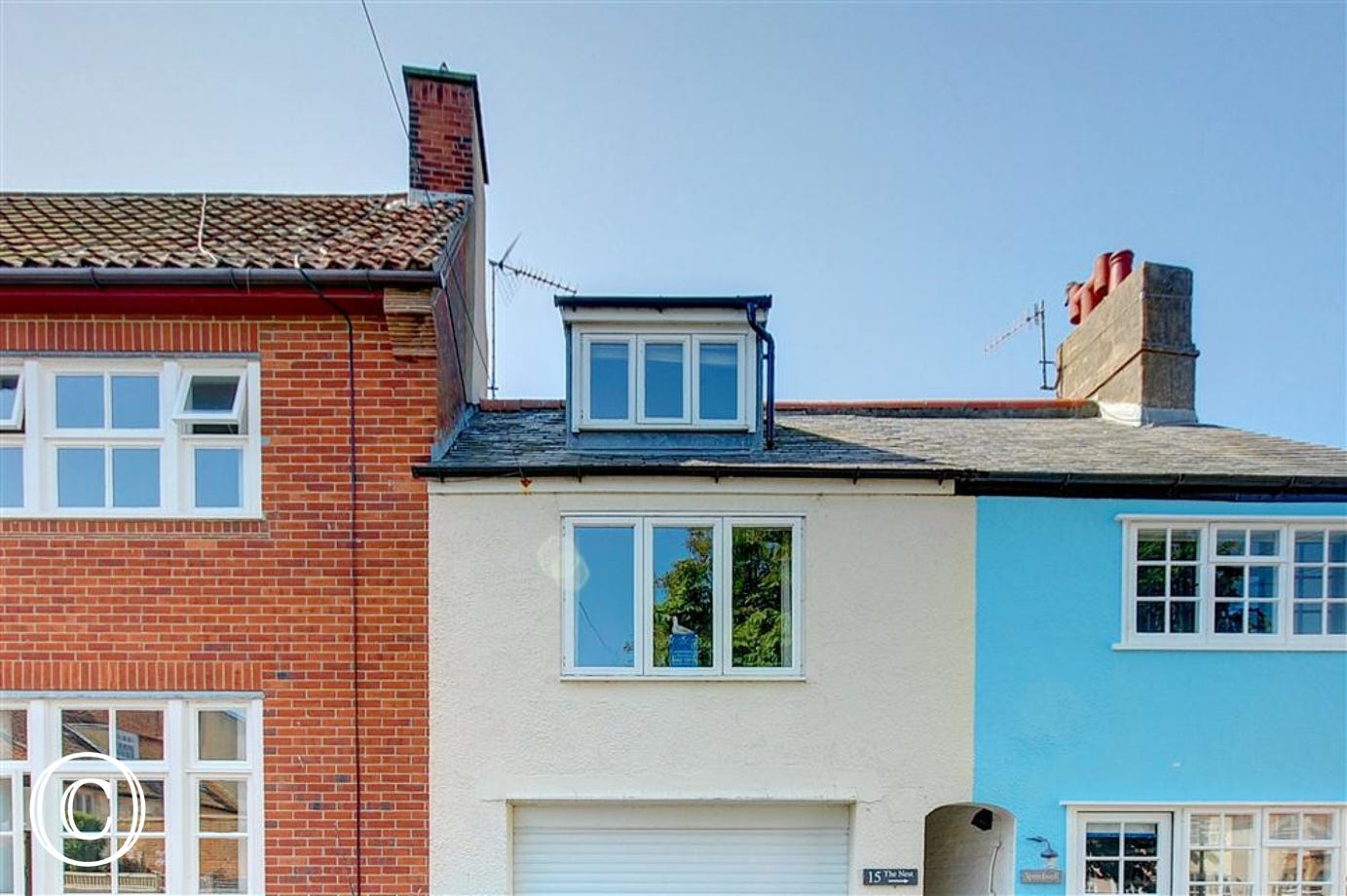 The Nest in Southwold is a fabulous property for two on St James Green spread over 3 floors.