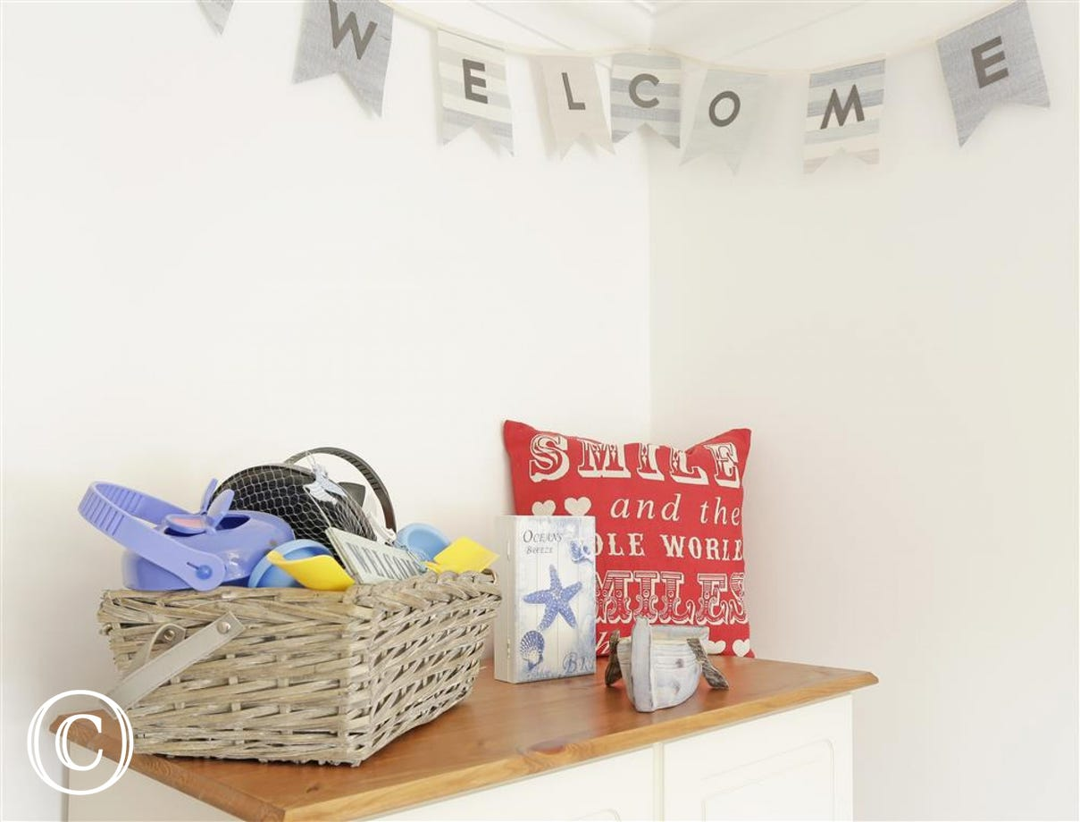 You'll receive a warm welcome when holidaying at Teal Cottage.