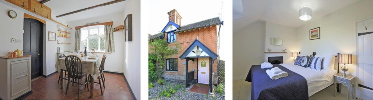 Win a walking holiday at Piglet Cottage, Suffolk