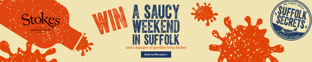 Win a saucy weekend in Suffolk