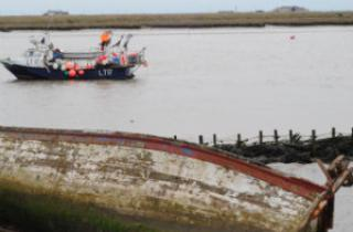 Fishing Boats in Orford