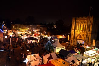 The Bury St Edmunds Christmas Fayre
