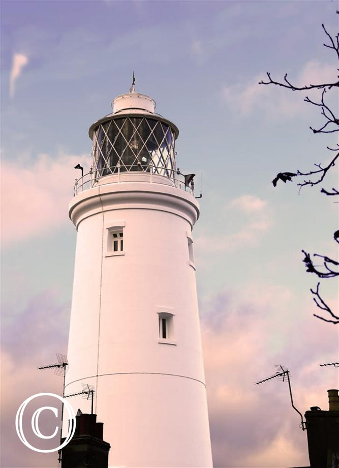 You will find the Lighthouse just a few paces away from The Nest