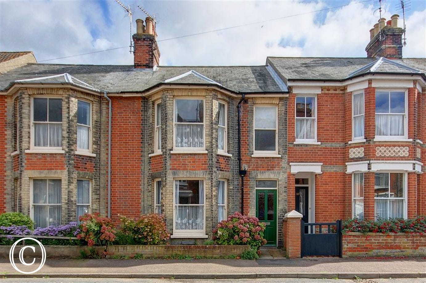 A beautiful, terraced victorian property close to both the beach and high street.