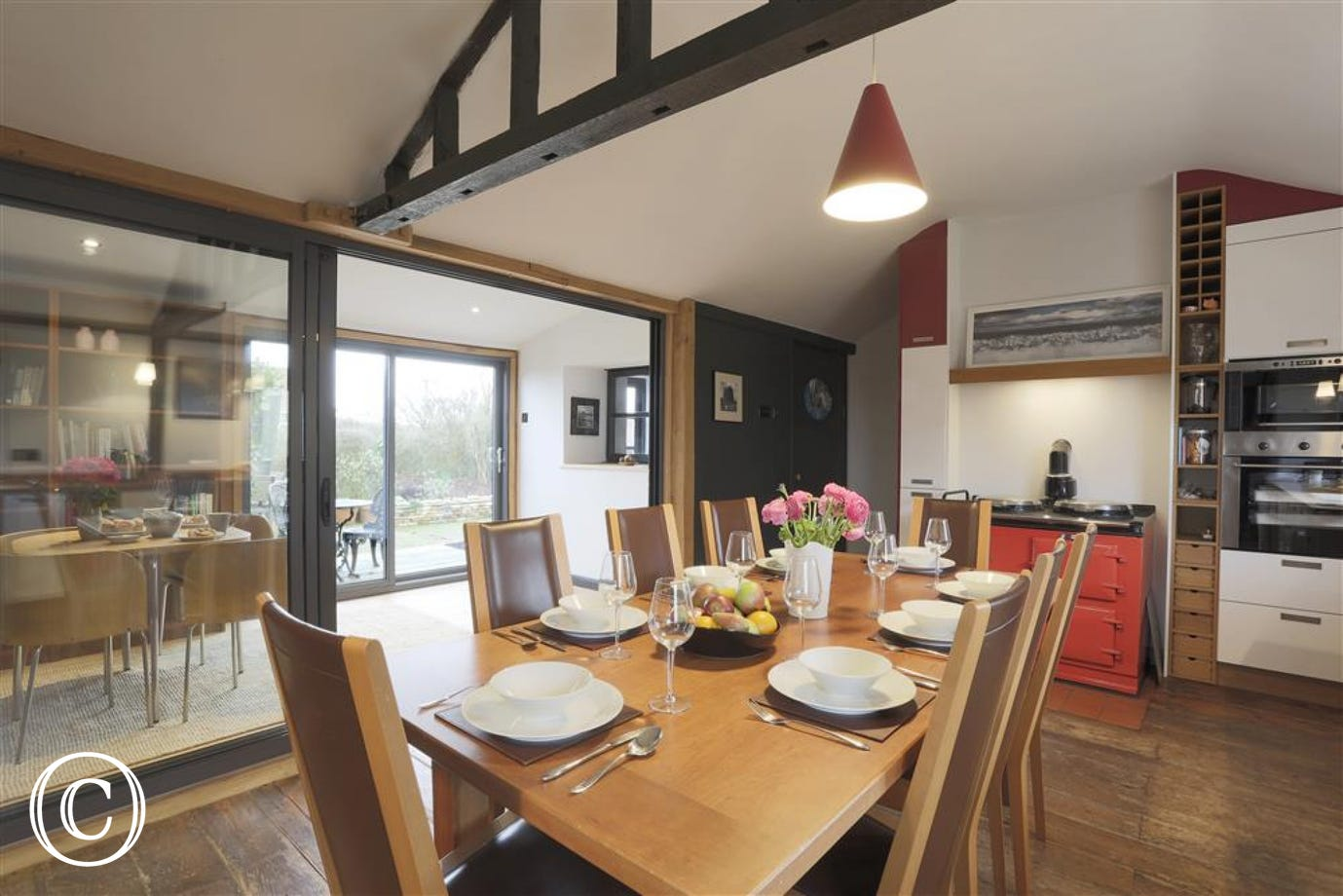 Open Plan Dining Area - View 4
