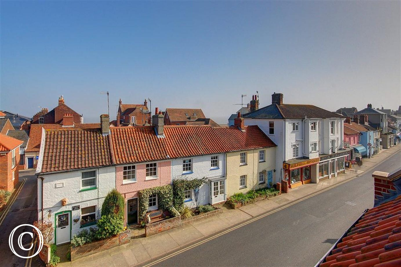 Soak up the atmosphere of Aldeburgh whilst gazing out of the window at Aldeburgh Dawn.
