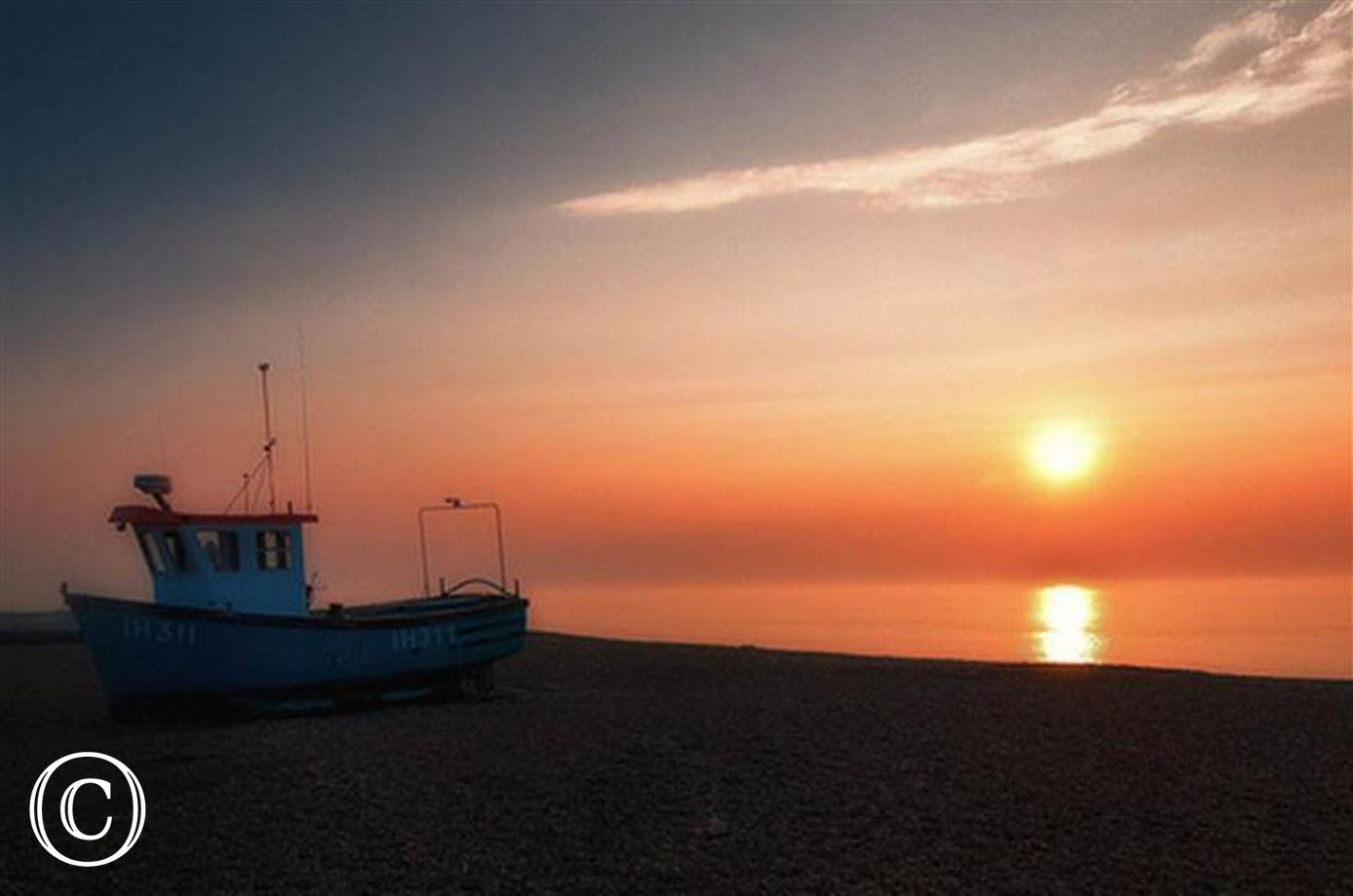 You may well be up early enough to witness an Aldeburgh Dawn.