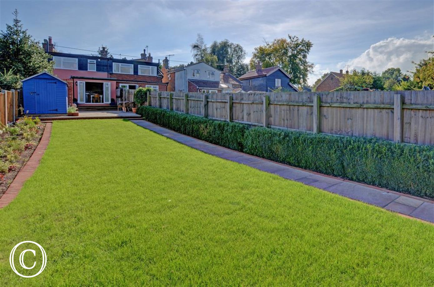 Enjoy this bright green lawn at Friday Place when you are occupying the property.