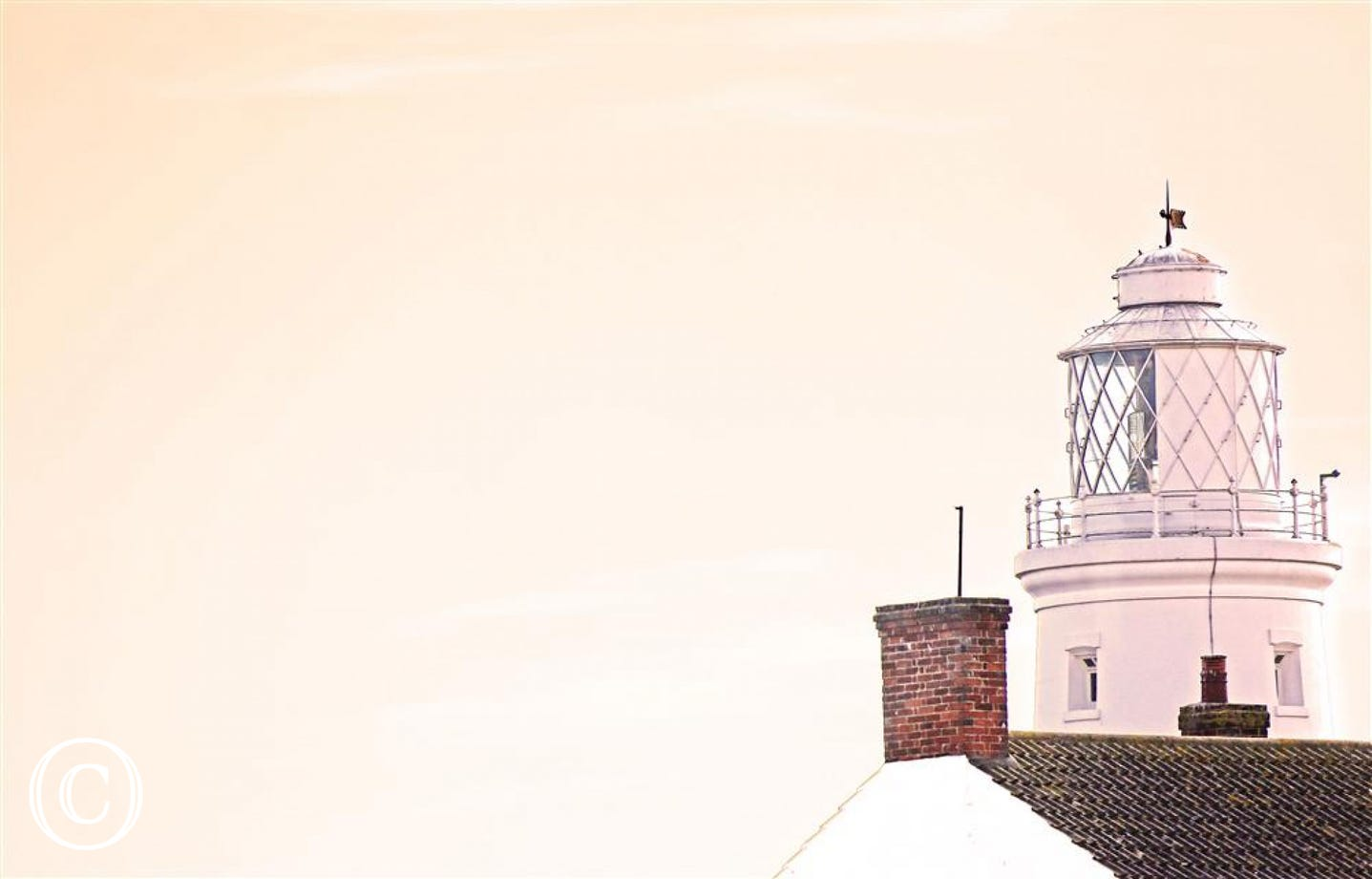 Gaze across to the Southwold Lighthouse