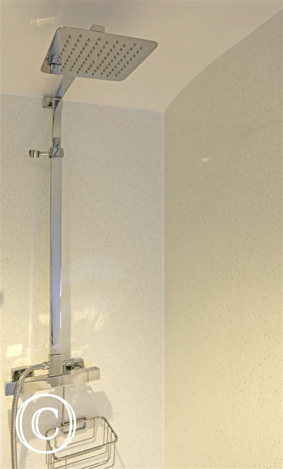 Rainfall Shower in Bathroom
