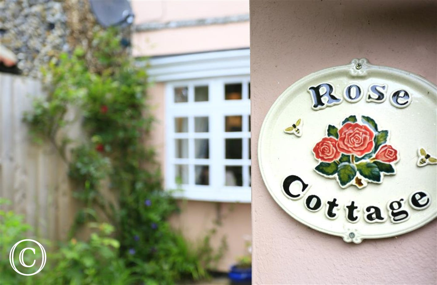 Rose Cottage Plaque