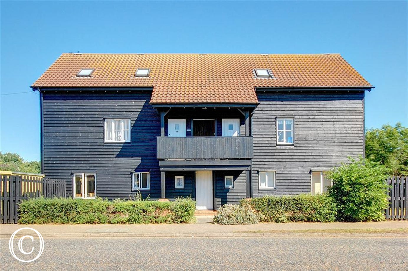 The Britten in Aldeburgh is a ground floor apartment for just two.