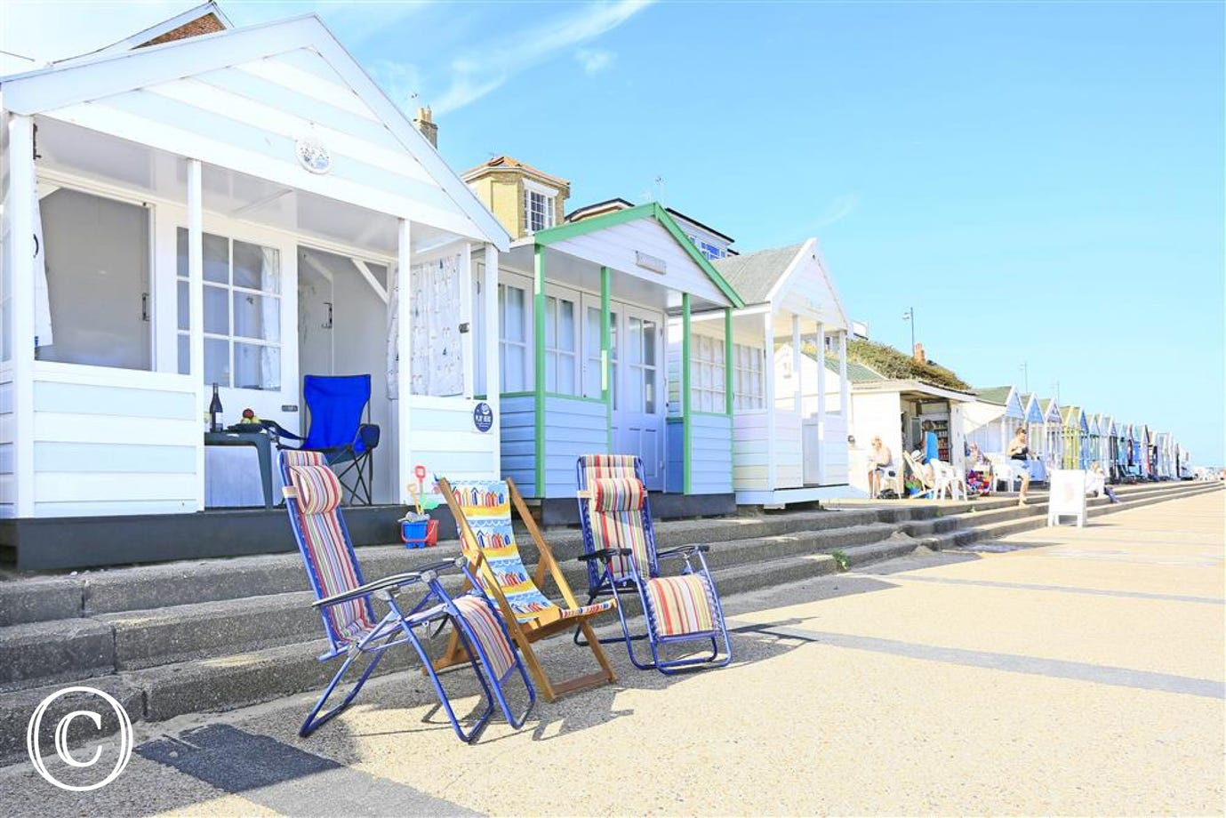 This Beach Hut can be hired with Suffolk Secrets