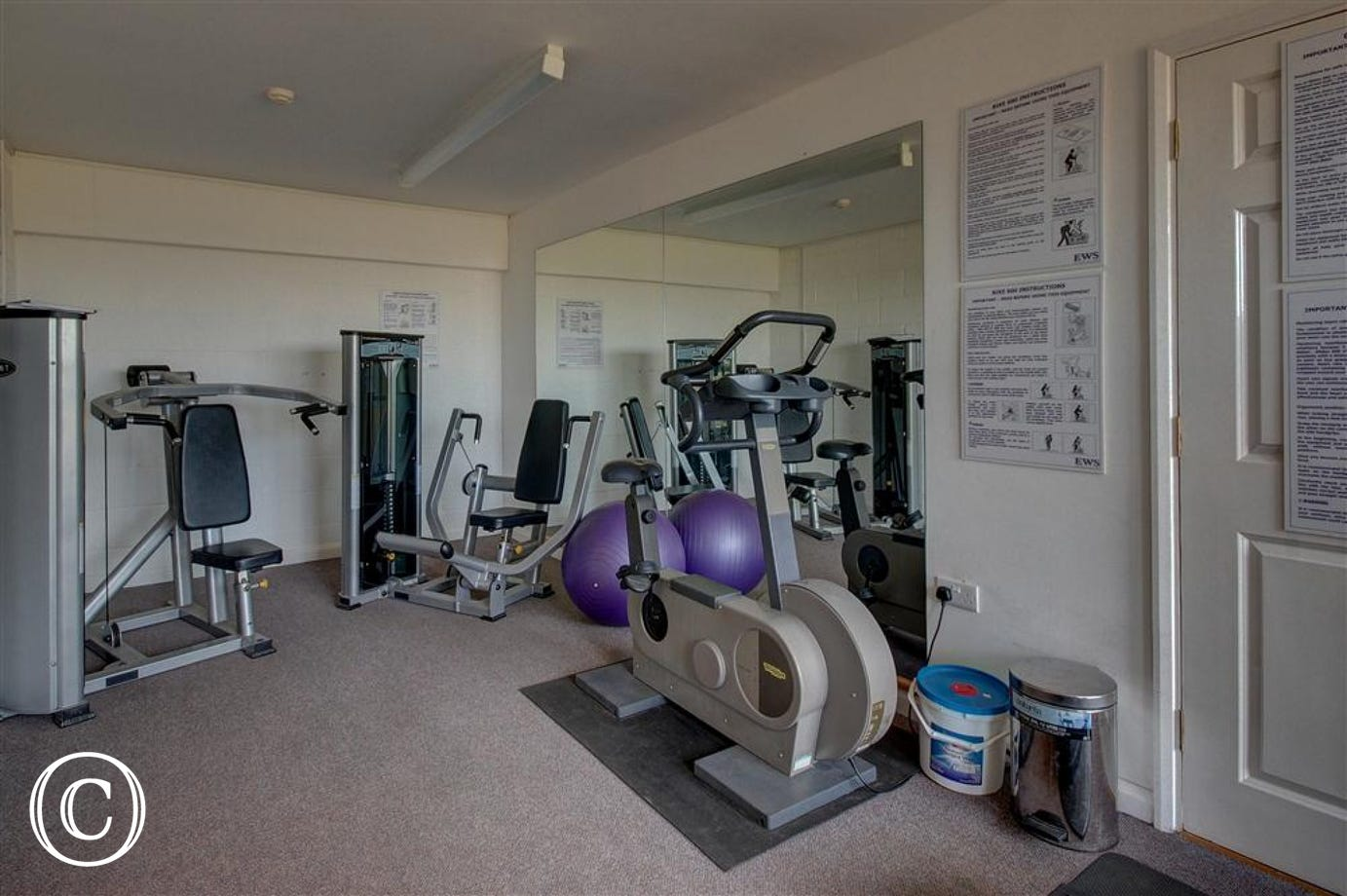 Work up a sweat in this gym which is sitauted in the Leisure Hall on the Blyth View complex.