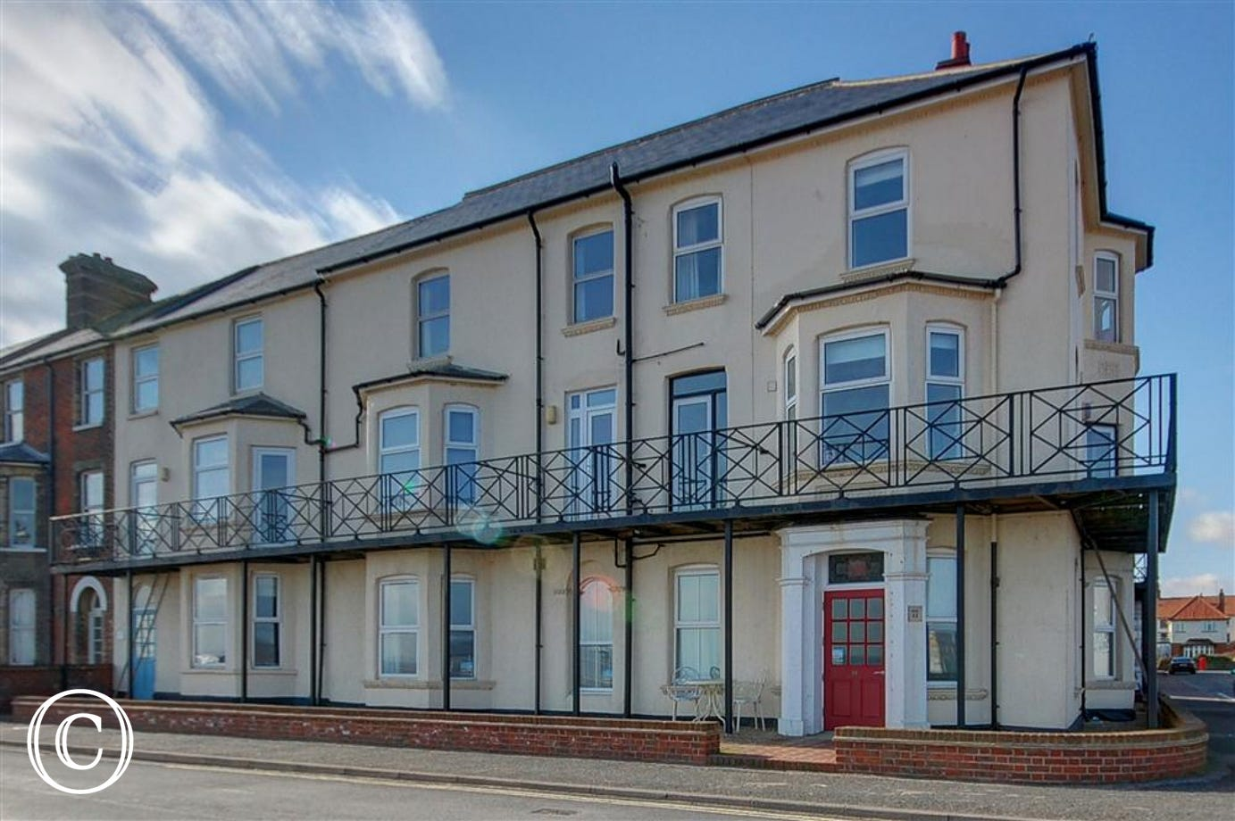 12 The Craighurst is set in one of the most alluring spots in Southwold, just seconds from the beach.