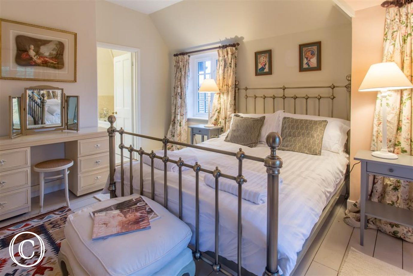 The master bedroom, Fairhaven, Walberswick