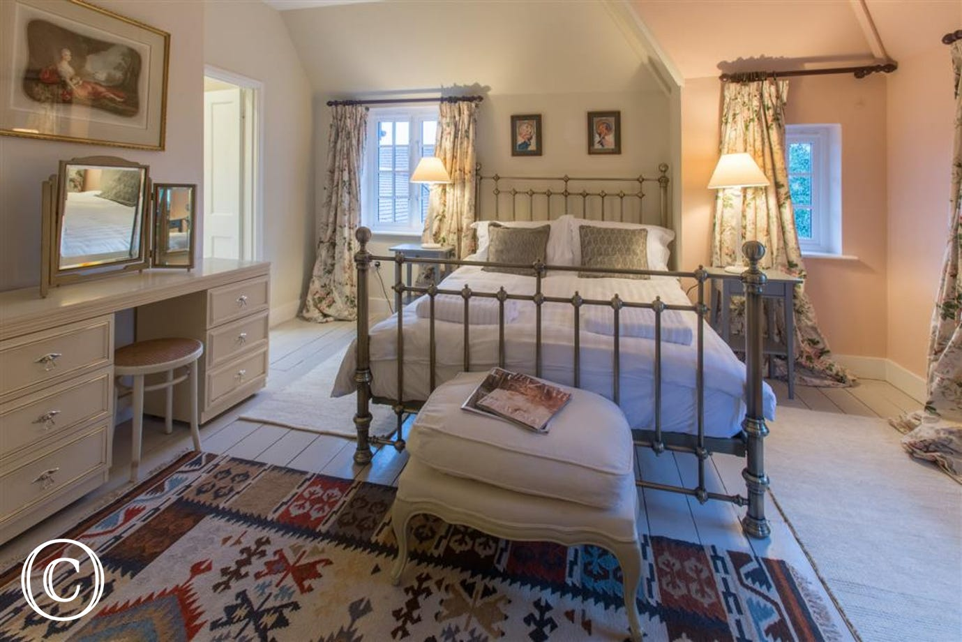 Master bedroom, Fairhaven, Walberswick