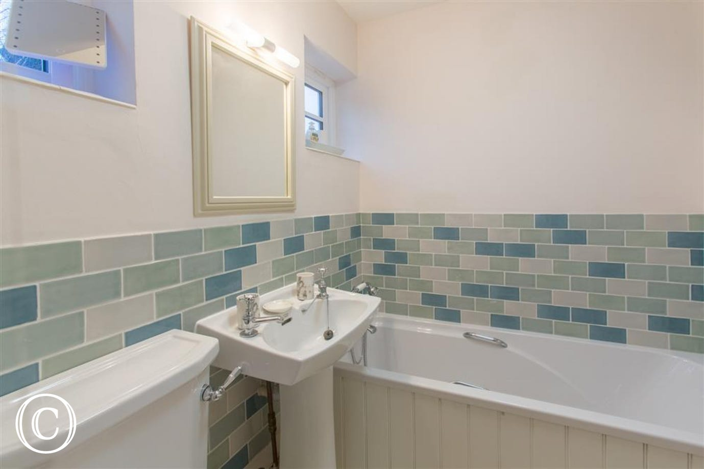 The ground floor bathroom, Fairhaven, Walberswick