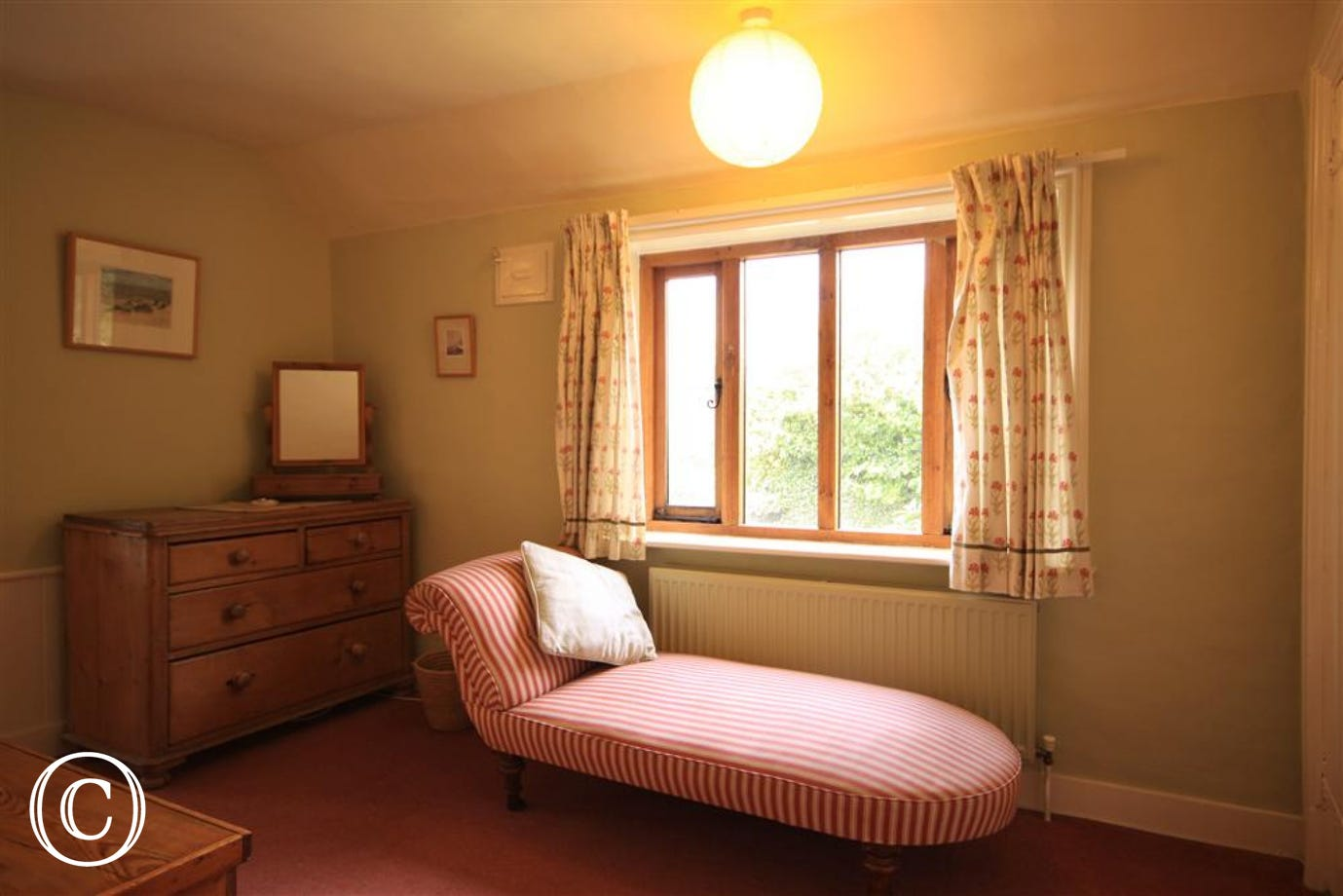 Old farm, double bedroom