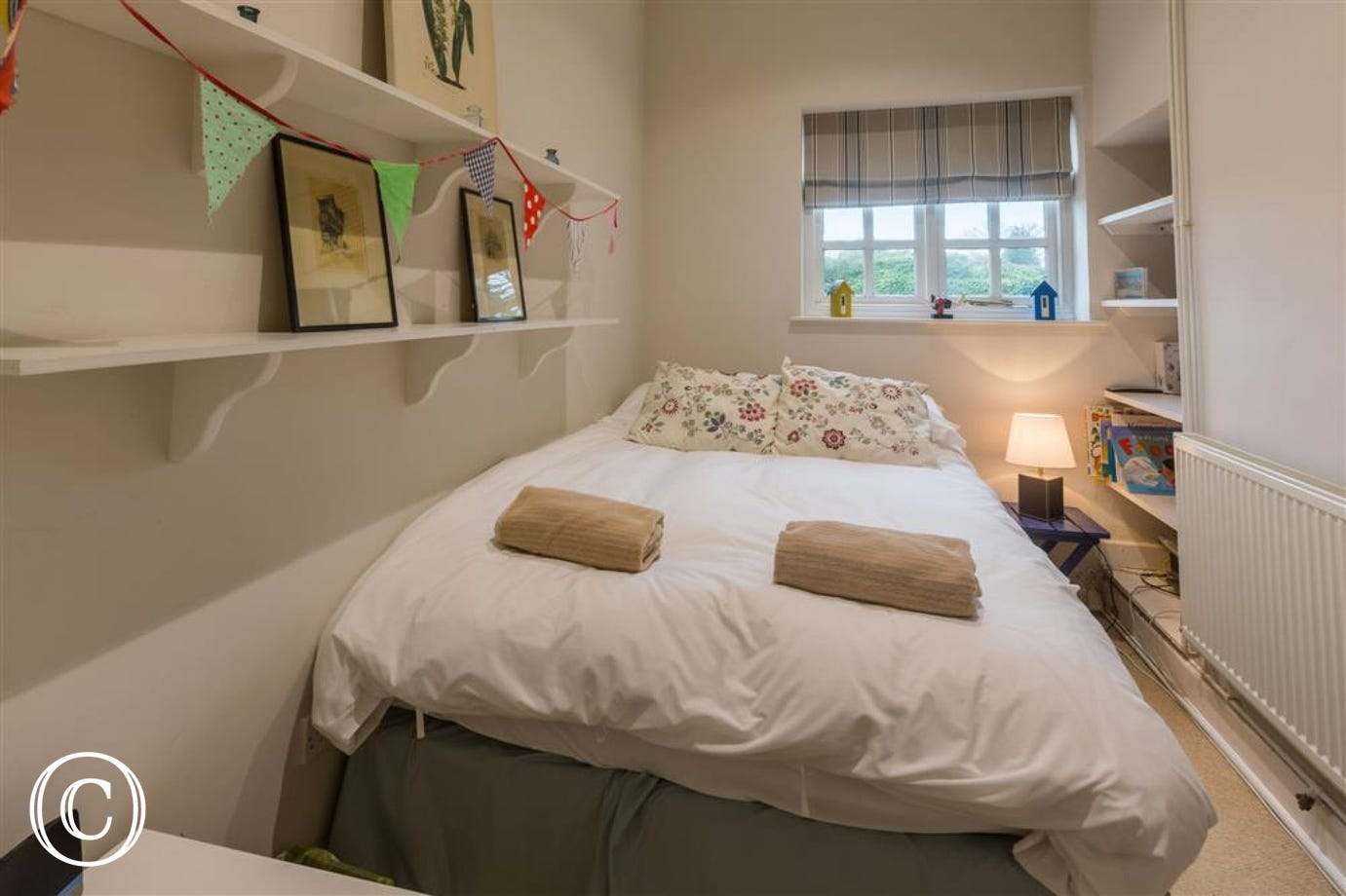 Bedroom, Tower Cottage, Walberswick