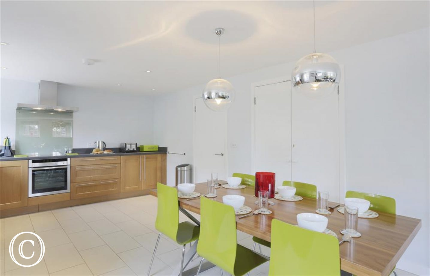 Open Plan Kitchen/Dining Area - View 1