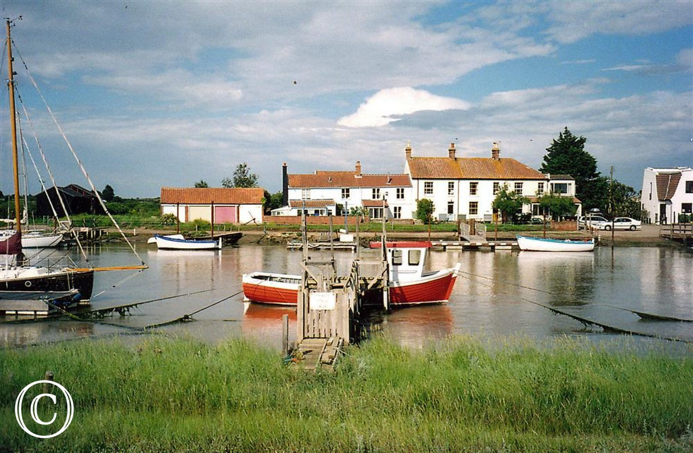Just pop over to Walberswick from this property located just by the harbour.