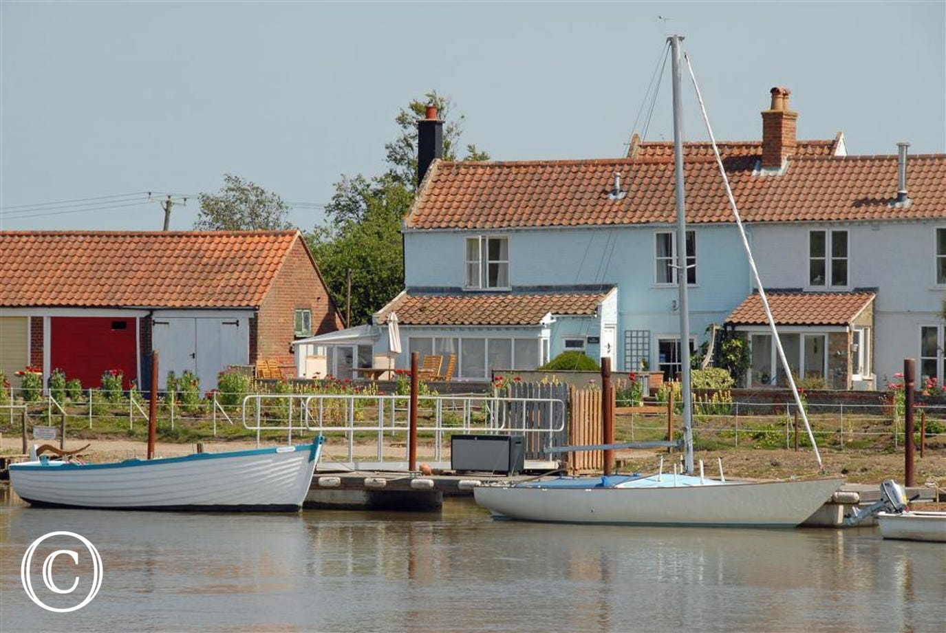 Lovely views from Walberswick onto this property.