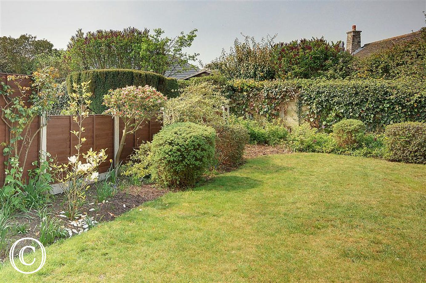Spend time in the warmer months relaxing in the comfort of your own garden.