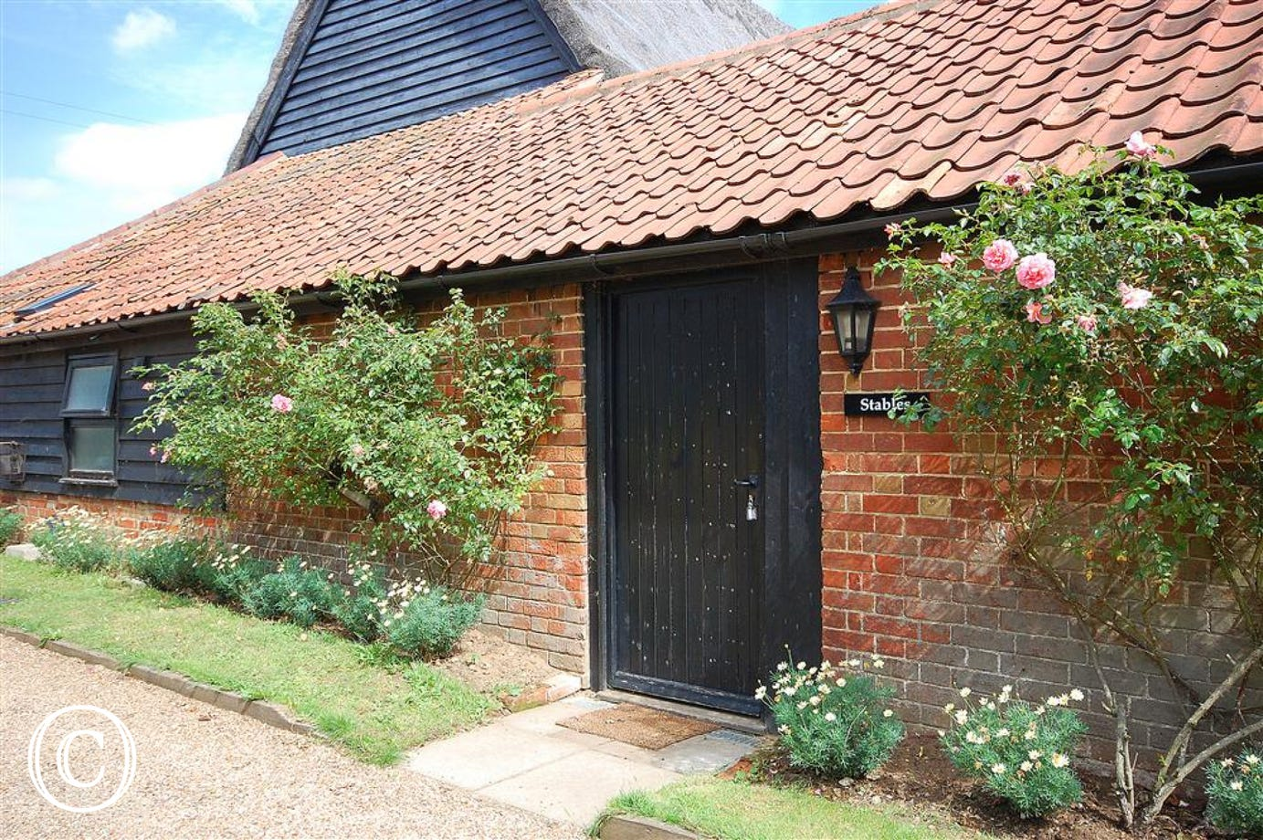 The Stables is a barn conversion and is one of four self-catering properties.