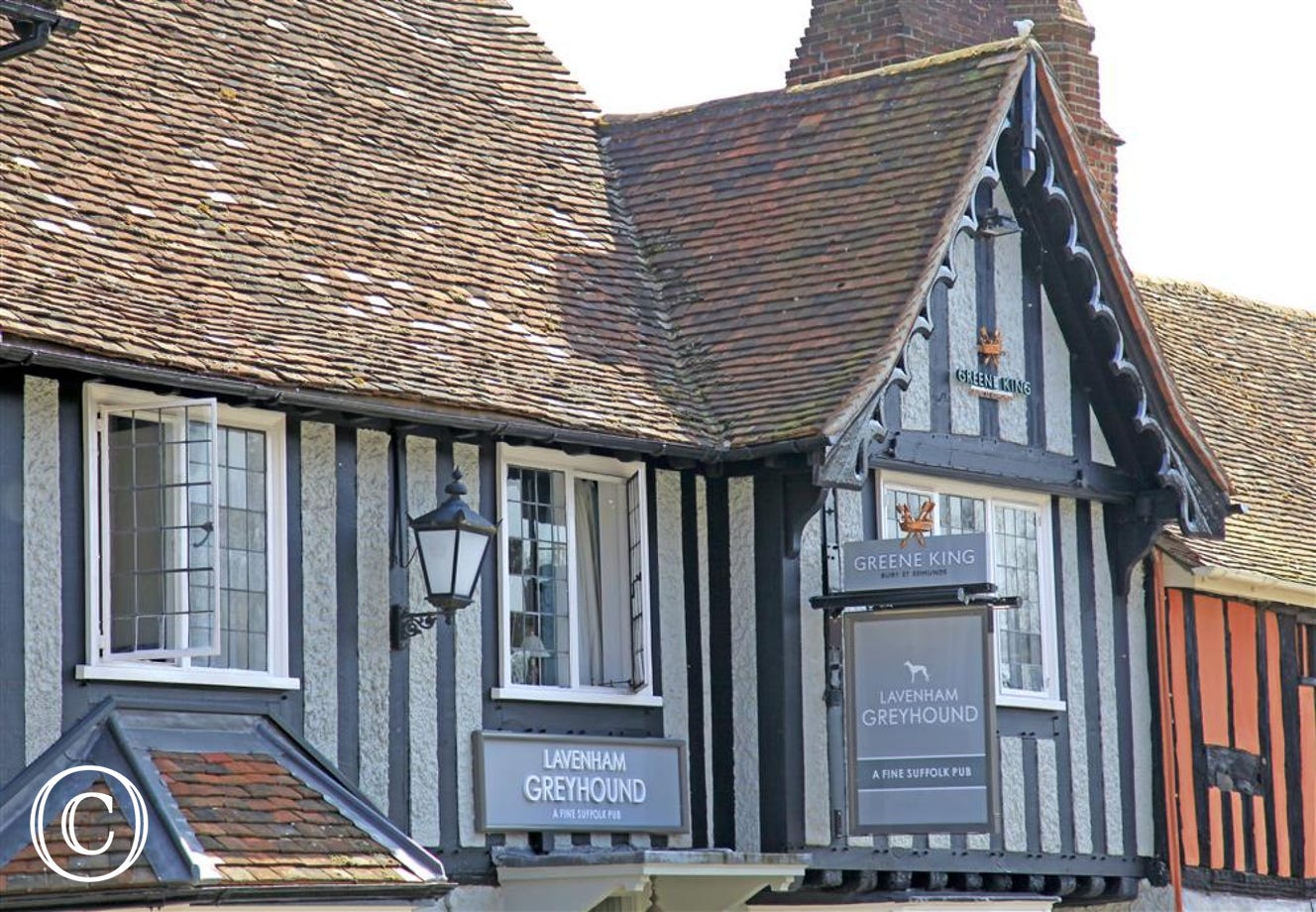Greyhound Pub at Lavenham