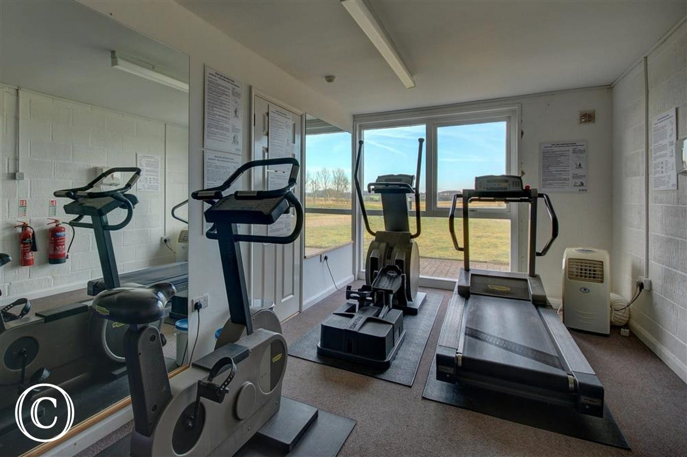 Gym Room - View 1