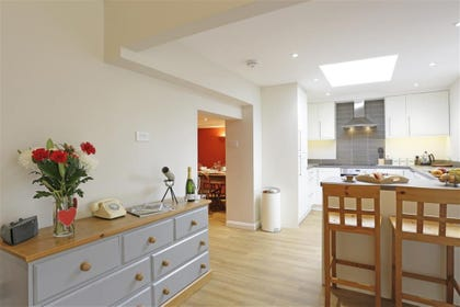 Open Plan Kitchen Area - View 2