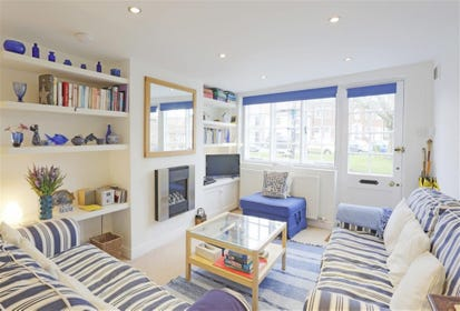 Kick off your shoes and relax in this welcoming space after a day out in Southwold.