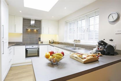 Open Plan Kitchen Area - View 1