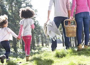 Take the family for a picnic in the countryside this May