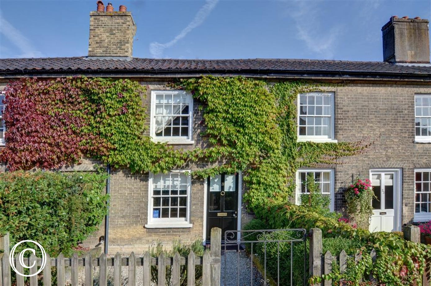 Angle Cottage is a rustic property stepped in character and charm and sleeps 4 in the village of Saxmundham.