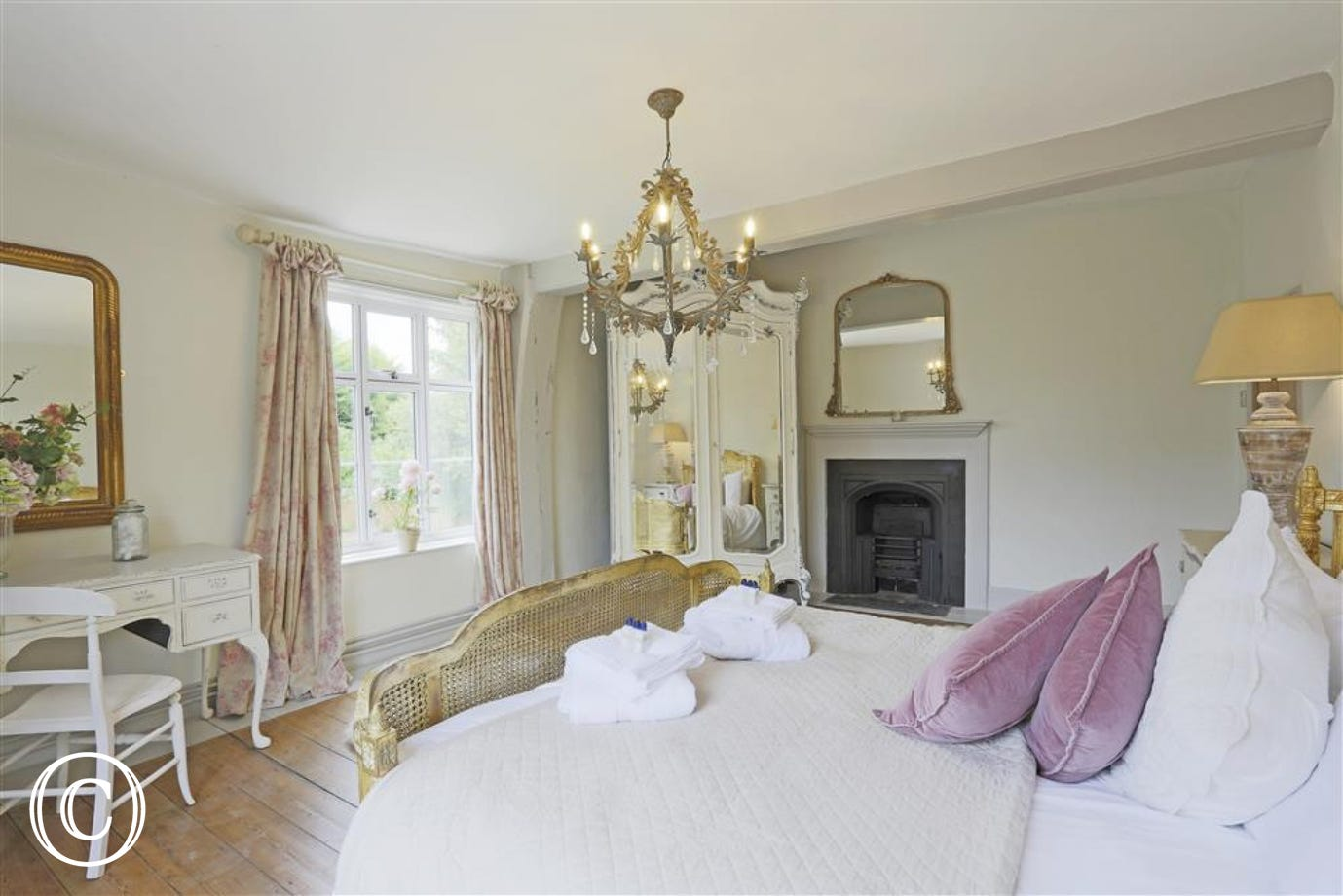 The French Master Bedroom - View 2